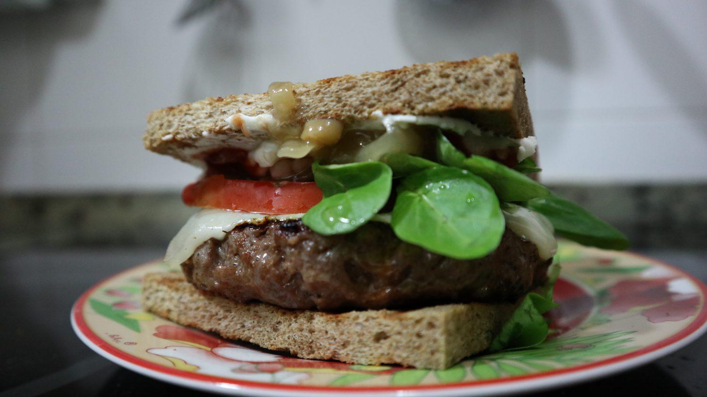 Hamburguesa corbacho fitness baja en grasa e hidratos y alta en proteínas