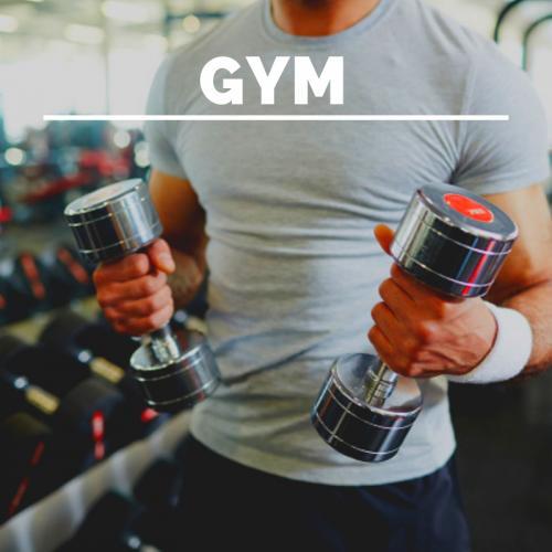 gym: gimnasio